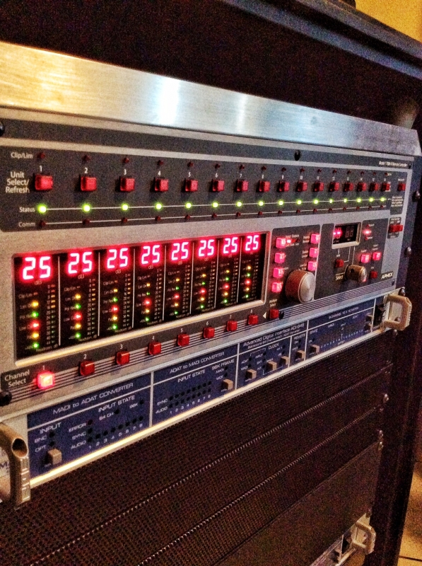 Used 1788A- 8ch RC Microphone Preamp from Aphex Systems