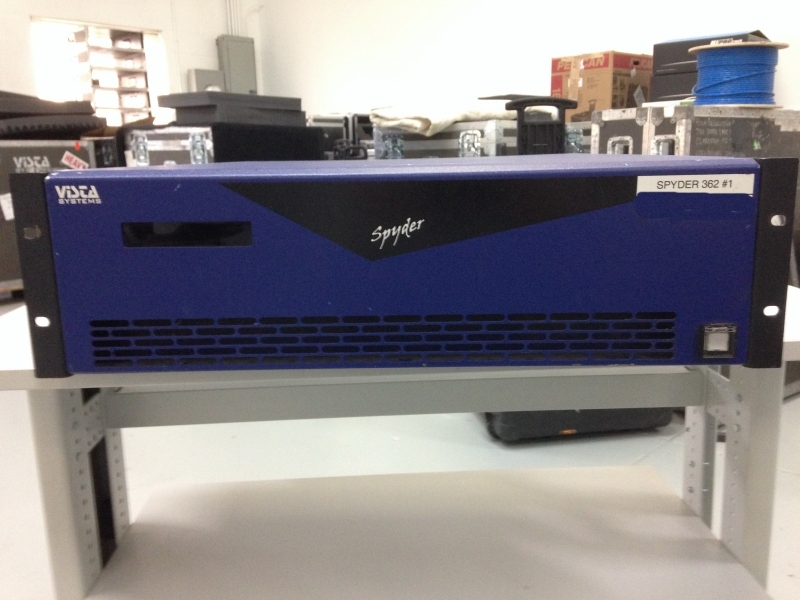 Used Spyder 362 from Vista Systems