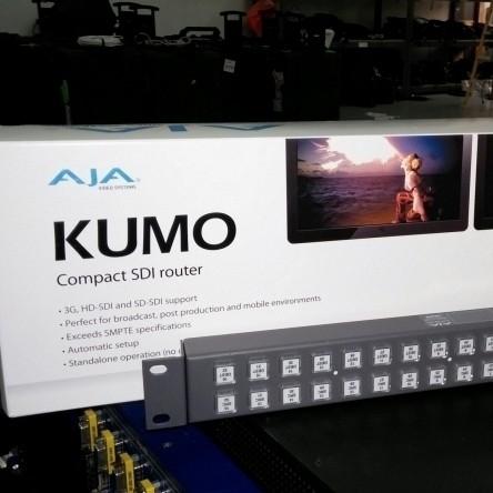 Used AJA Kumo SDI Router from AJA