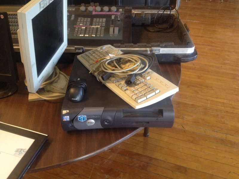 Used Insight 3 from Electronic Theatre Controls