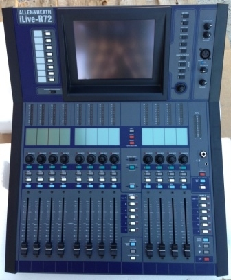 Used iLive-R72 with iDR 16 from Allen and Heath