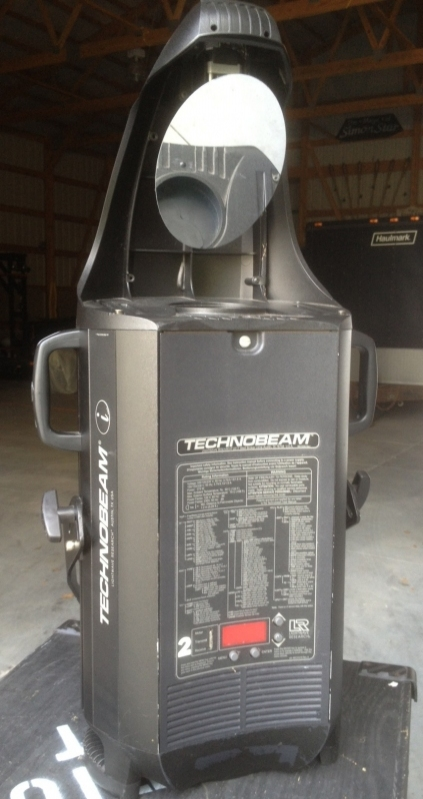used technobeam by high end systems item 38977