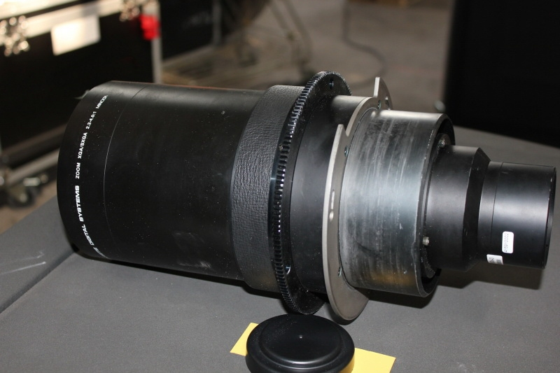 Used 2.3-4.2:1 Zoom lens from Christie Digital