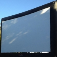Used 40 Foot Open Air Elite Screen from Open Air