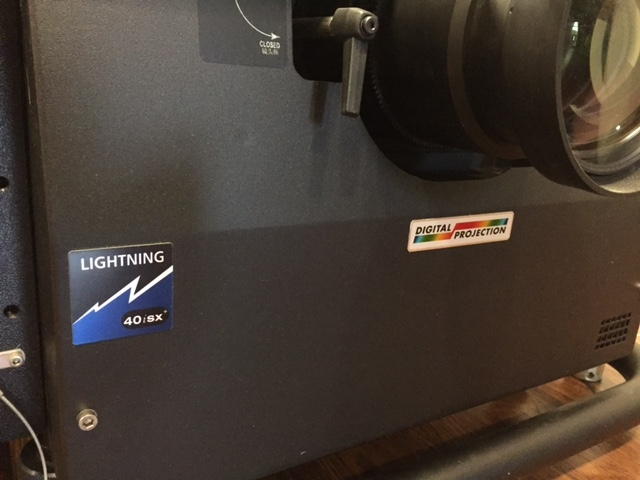 Used LIGHTNING 40isx Plus  from Digital Projection