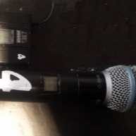 Used UHF Wireless from Shure
