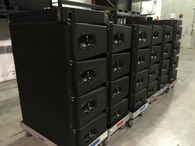 used j8 sound system by d b audiotechnik item 40171. Black Bedroom Furniture Sets. Home Design Ideas