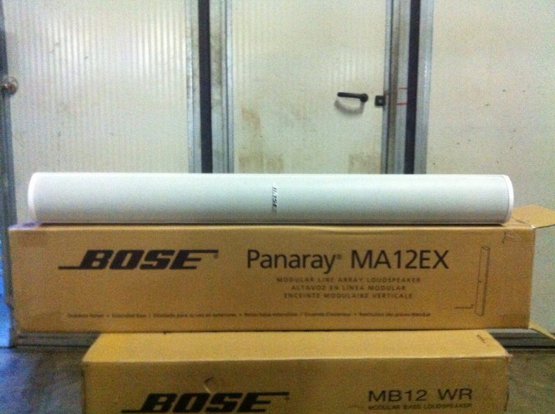 Used Panaray MA12 from Bose