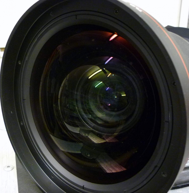 Used TLD (0.8) Lens from Barco