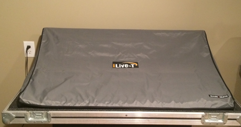 Used iLive - T112 wtih iDR48 from Allen and Heath