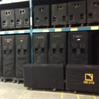 Used V-DOSC from L-Acoustics