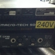 Used MA5002VZ from Crown