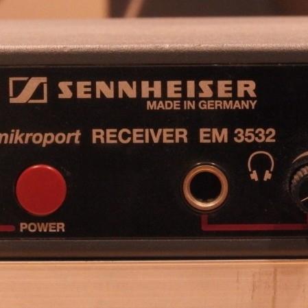 Used EM3532 - U System from Sennheiser