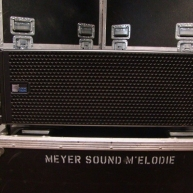 Used M elodie from Meyer Sound