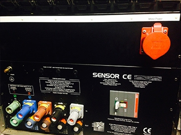 Used Sensor Touring Rack from Electronic Theatre Controls