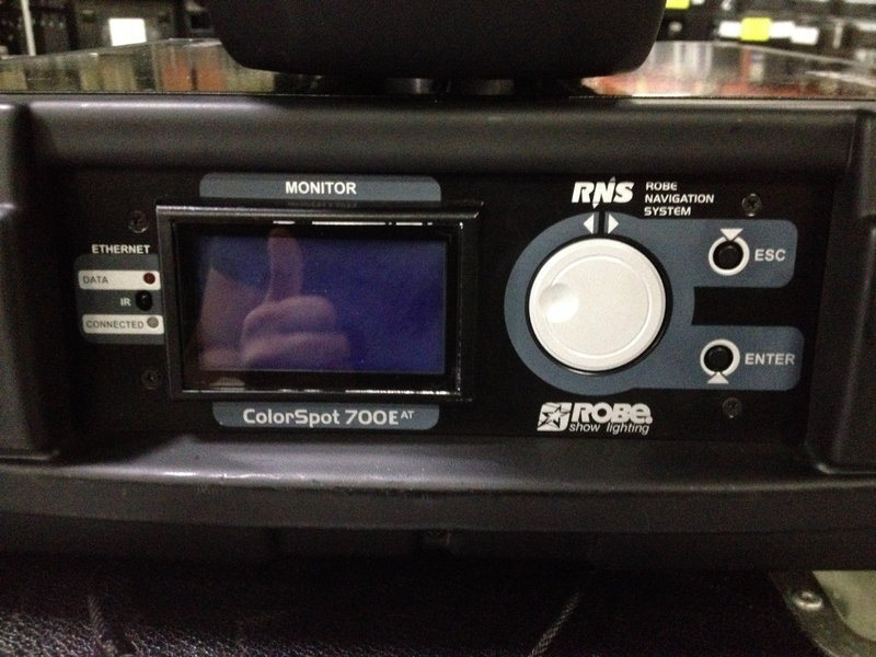 Used ColorSpot 700E AT from Robe