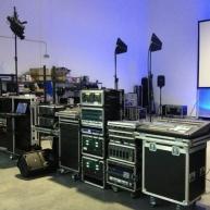 Used Audio, Video, Lighting, Staging Liquation from Pro AV Inventory Liquidation