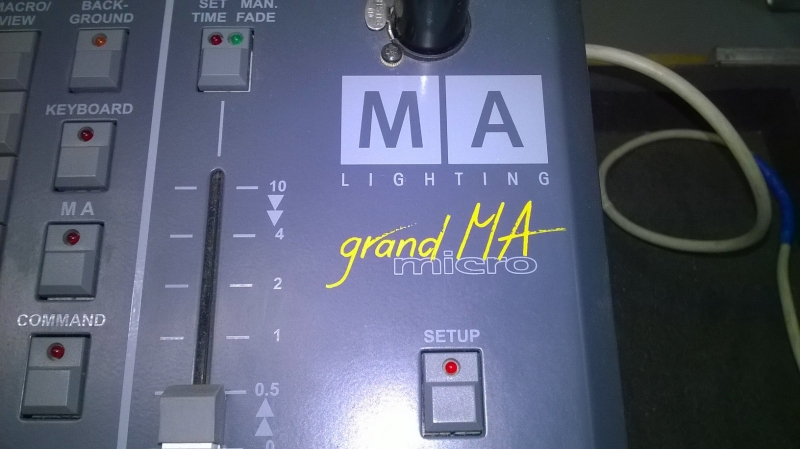 Used grandMA Micro from MA Lighting