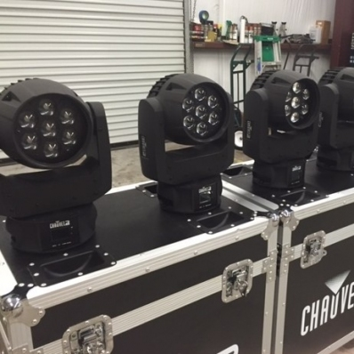 Used Intimidator Wash Zoom 350 IRC from Chauvet