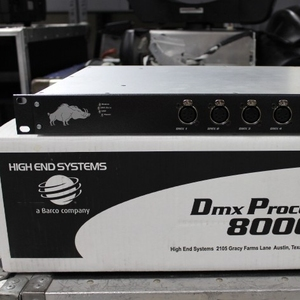 Used DMX Processor 8000 from High End Systems