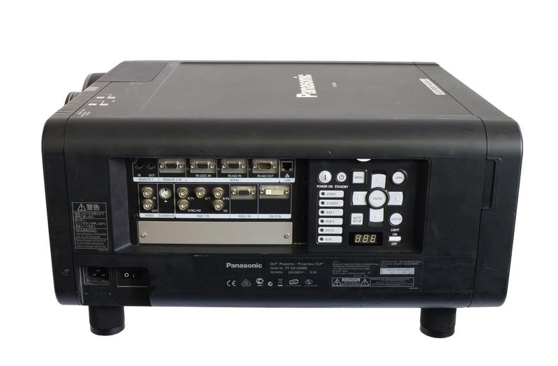 Used PT-DZ12000E from Panasonic