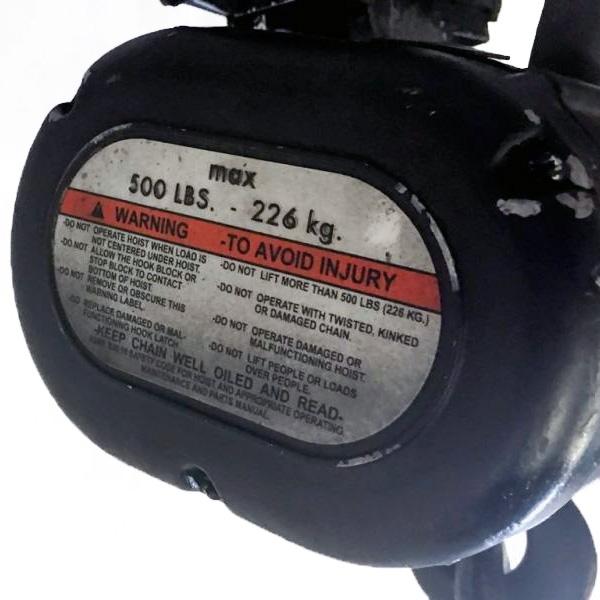 Used Lodestar 1 4 Ton from Columbus McKinnon