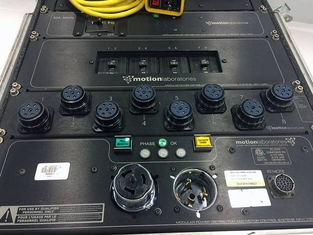 Used Hoist Distro 8-Unit from Motion Labs