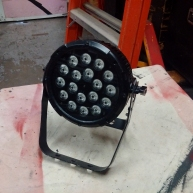 Used SlimPAR Pro RGBA from Chauvet