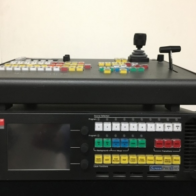 Used ScreenPro II HD Switcher and Contoller from Barco