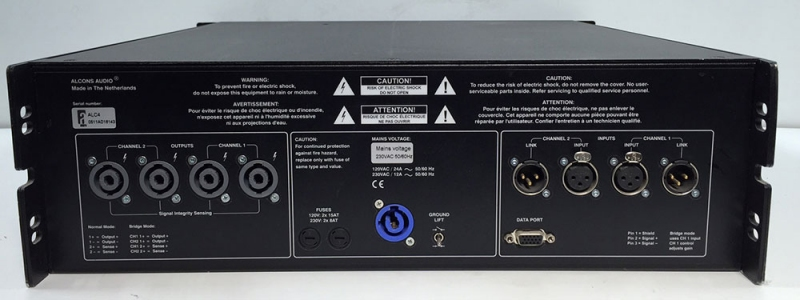 Used ALC-4 Amp from Alcons Audio